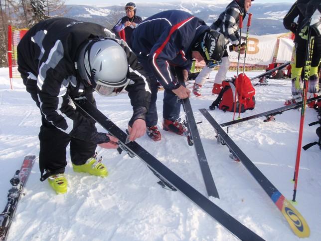 Výuka lyžování
